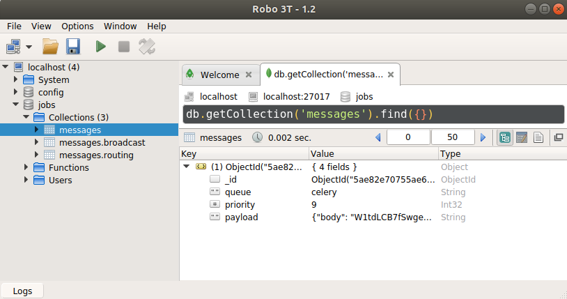 MongoDB GUI Client